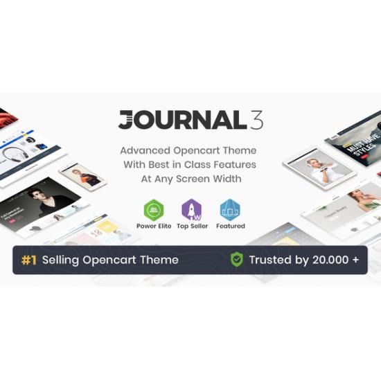 Opencart Journal 3 Teması